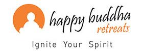 happy buddha retreats logo