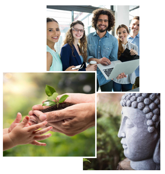 From banking to Buddha - we work with a wide range of businesses